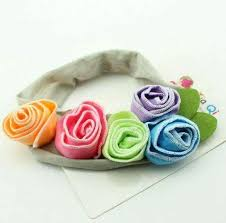 baby hair ties baby hair accessories flower hair bands sarahsale