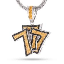 hip hop necklace images The triple 7s cz hip hop pendant hip hop pendants king ice jpg