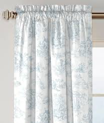 toile kitchen curtains toile curtain etsy french country
