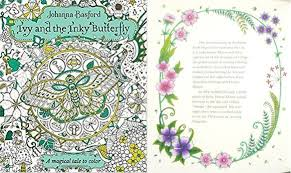 ivy inky butterfly magical tale color edition