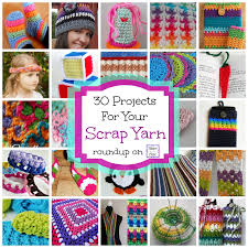 fiber flux 30 free crochet projects for your scrap yarn