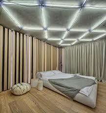 plafond chambre a coucher faux plafond moderne dans la chambre à coucher et le salon