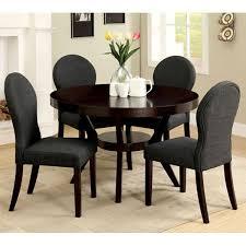 Dixon Espresso Piece Round Dining Room Table Set   Shop At Home - Espresso dining room set