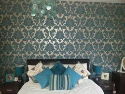 Best Bedroom  Images On Pinterest Home Live And Painted - Damask bedroom ideas
