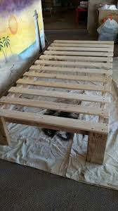 Simple Platform Bed Frame Plans by Best 25 Diy Twin Bed Frame Ideas On Pinterest Twin Platform Bed