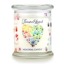 memorial candle furever loved memorial candle 100 soy wax pet memorial candle