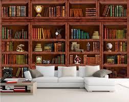 online get cheap 3d bookcase wallpaper aliexpress com alibaba group 3d wallpaper custom mural bookcase bookshelf tv wall papers home decoration painting 3d wall murals wallpaper