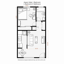 1 bedroom floor plans beautiful kenwood village apartments 1515