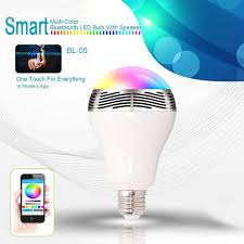 android bluetooth speaker bluetooth speaker led light bulb colorful changing lights for