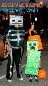 Halloween Costumes Minecraft Homemade Minecraft Skeleton Costume Halloween