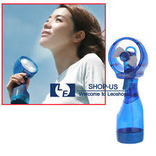 handheld misting fan water spray fan ebay