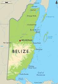 Mexico On A Map by Belize Commits To 100 Per Cent Renewable Rnergy Reve