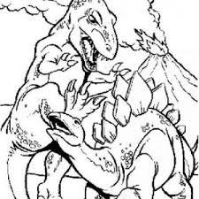 rex fighting coloring color luna