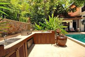 Tropical Outdoor Kitchen Designs Consolidated Kitchens Lovable Tropical Outdoor Kitchen Designs