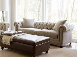 Tufted Living Room Chair by Parlor Couch Idea Too Big Martha Stewart Saybridge Living Room