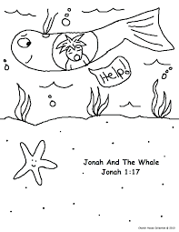 whale coloring pages printable page jonah and the story for