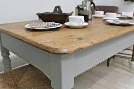 Kitchen Table Legs Natural Farmhouse Kitchen Table U2014 Home Design Blog