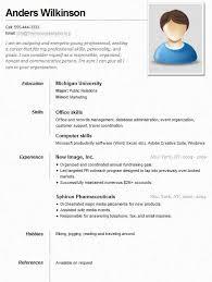 job resume sample