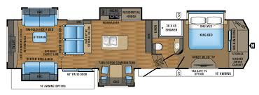 2017 designer luxury fifth wheel floorplans u0026 prices jayco inc