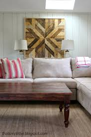 Wood Wall Living Room by Diy Pottery Barn Planked Wood Quilt Square Want To Make Four Of