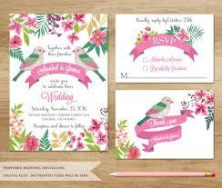 digital wedding invitations sweet peony design