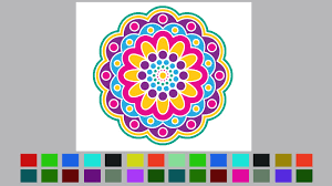 coloring book with multiple templates u0026 colors download