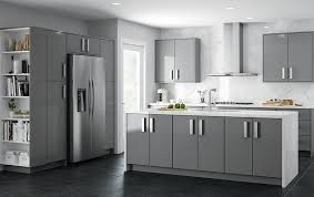 is semi gloss for kitchen cabinets ideal cabinetry manhattan semi gloss gray royal kitchen