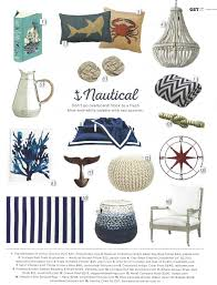Nautical Decor Ideas Everything Coastal More Blue And White Nautical Decorating Ideas
