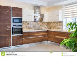 modern design of the kitchen in a light bright interior stock royalty free stock photo download modern design of the kitchen