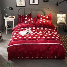 compare prices on red duvet covers king size online shopping buy
