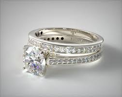 channel set wedding band 1110314051p thin channel set diamond engagement ring and
