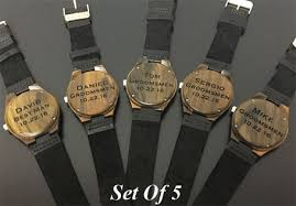 best groomsmen gifts personalized groomsmen watches and unique groomsmen gift ideas