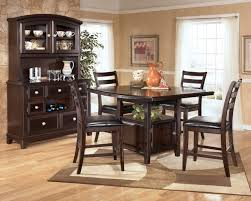 furniture office surprising counter high table and chairs 13 on