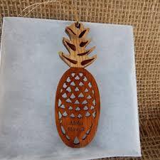 koa ornaments hawaii bookmark