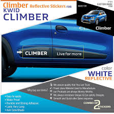 renault climber colours renault kwid climber reflective stickers door moldings amazon