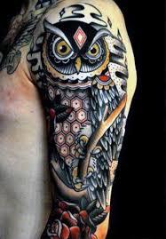 24 best quarter sleeve tattoos owl images on quarter