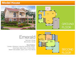 Floor Plan Of Bungalow House In Philippines Floor Plans Camella Homes Tarlac