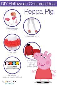 How To Make A Diy Peppa Pig Halloween Costume Halloween Costume