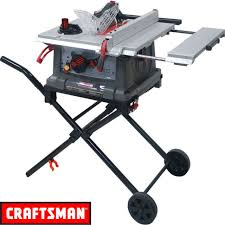 craftsman 10 portable table saw craftsman 10 portable table saw jt2504rc 4 ebay