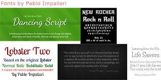 pablo impallari 44 free fonts fontspace