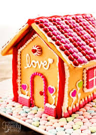 valentine u0027s day gingerbread house favorite family recipes