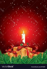 christmas gift packages christmas gift packages with candle and pine leave
