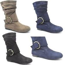 womens size 9 ankle boots uk s faux suede fashion pixie ankle boots flats shoes uk