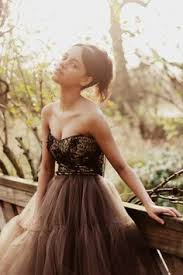brown wedding dresses simon mickeymia007 on