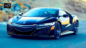 acura supercar 2017 acura nsx supercar test drive on racetrack hd youtube