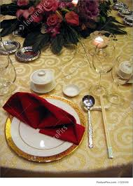 wedding banquet table setting stock image i1325354 at featurepics
