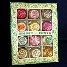 interesting inspiration shiny brite ornaments antique