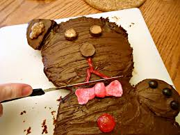 how to make a teddy bear cake three different directions