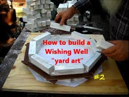 how to build a wishing well yard project 2of