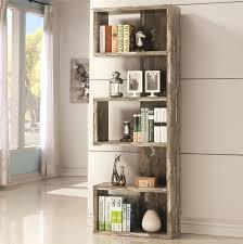 Mantel Bookshelf Distressed Wood Bookshelf Studio Rustic Industrial Style Antique